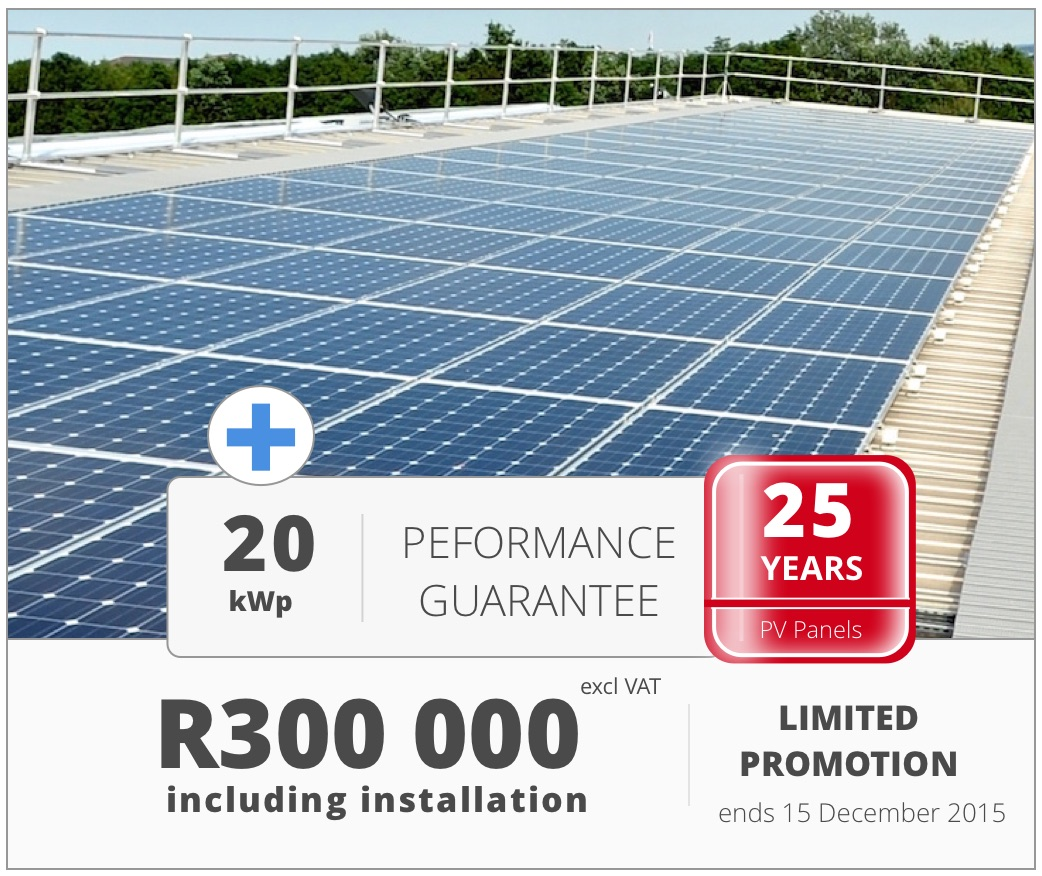20kW Solar promotion