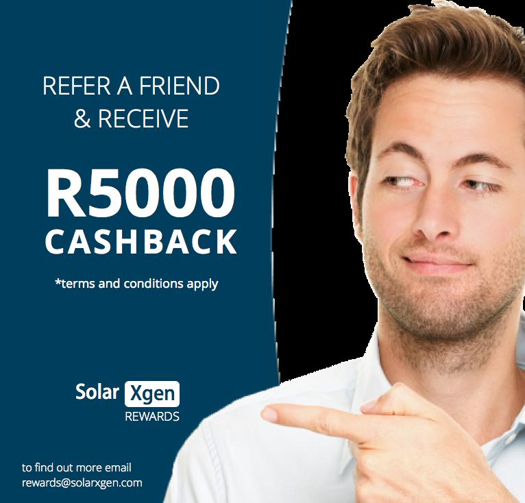 Solar Referral programme from Solarxgen - get rewarded for your solar referrals
