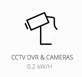 CCTV powered during load shedding