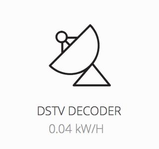 DSTV decoder powered during load shedding