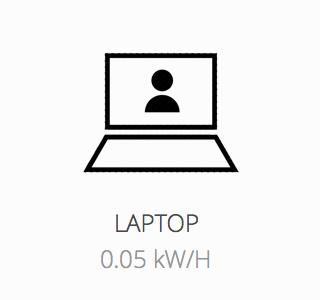 Laptop powered during load shedding