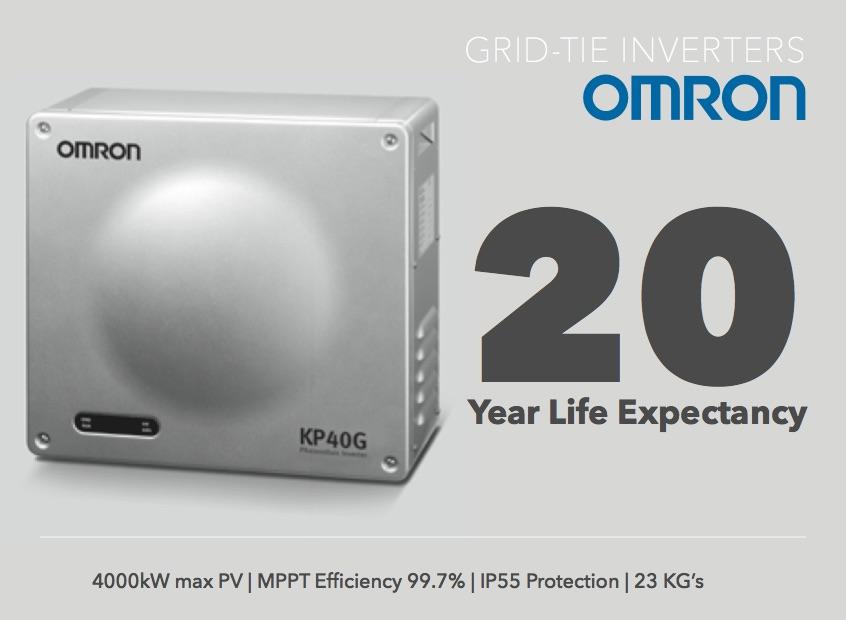 Omron inverter promotion
